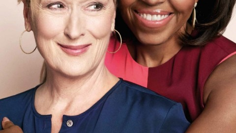 Michelle Obama et Meryl Streep