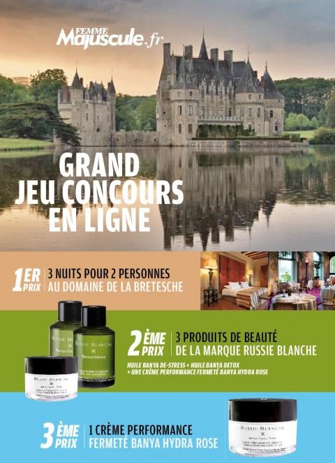 Jouez et gagnez un week-end en Relais & Château