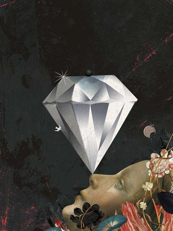 illustrations Emmanuel Polanco / Colagene.com pour Femme majuscule