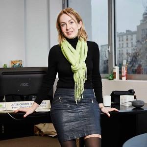 Stéphanie Goujon a participé en 2008 à la création d'adn (agence du don en nature)-action