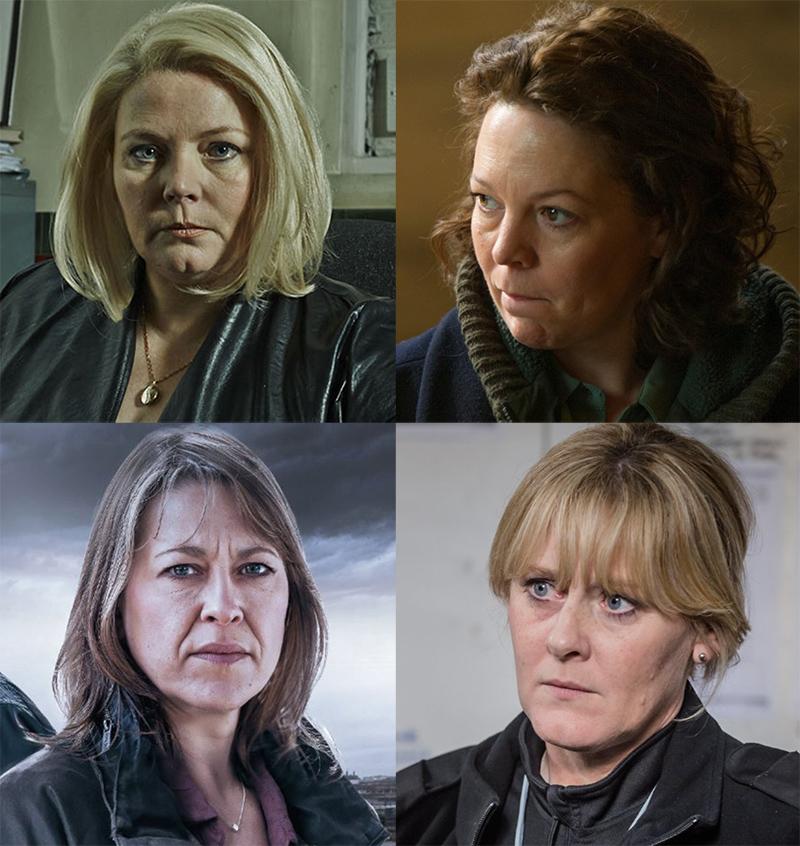 4 actrices british majuscules