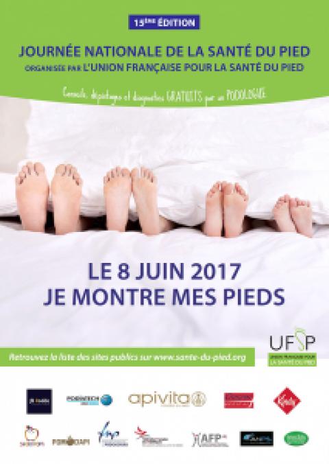 Journée nationale de la santé du pied : le 8 juin, profitons de  consultations gratuites